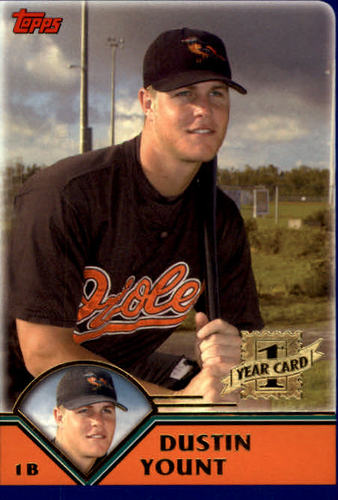 Photo of 2003 Topps Traded #T208 Dustin Yount FY RC