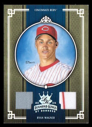 Photo of 2005 Diamond Kings Materials Silver #73 Ryan Wagner Jsy-Jsy/100