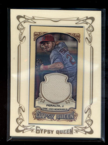 Photo of 2014 Topps Gypsy Queen Framed Mini Relics #GMRJP Jhonny Peralta