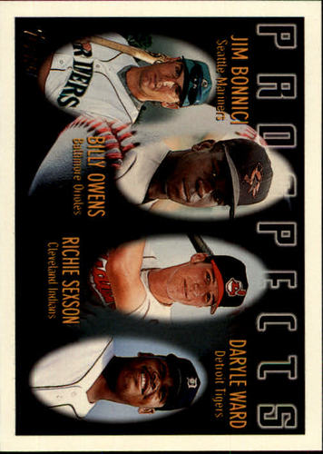 Photo of 1996 Topps #425 D.Ward RC/R.Sexson
