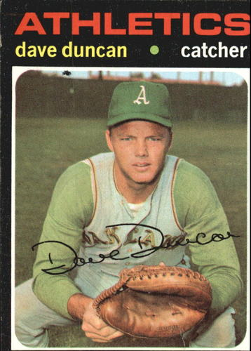 Photo of 1971 Topps #178 Dave Duncan