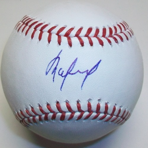 Photo of Rafael DePaula Autographed Official MLB Baseball