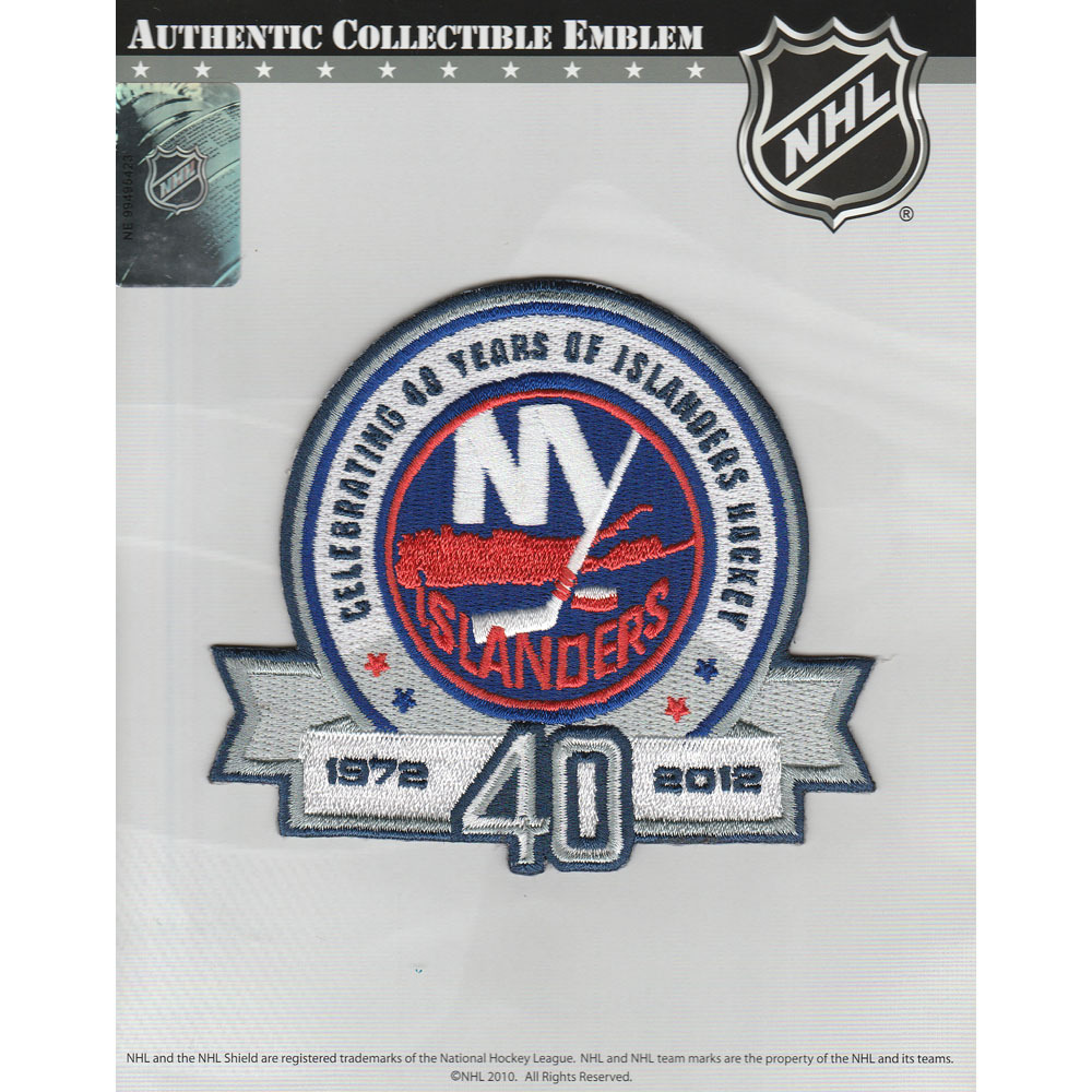New York Islanders 40th Anniversary Jersey Patch