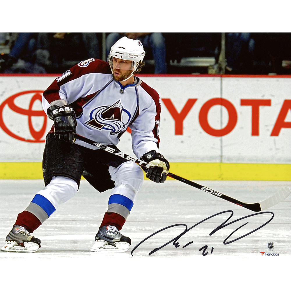 Peter Forsberg Colorado Avalanche Autographed 8