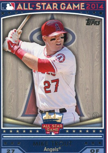 Photo of 2014 Topps All-Star FanFest #WR01 Mike Trout