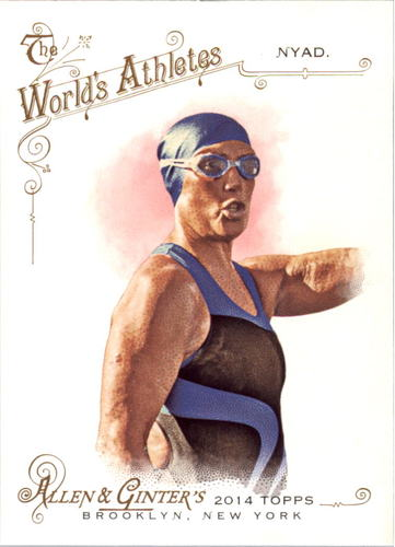 Photo of 2014 Topps Allen and Ginter #62 Diana Nyad
