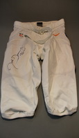 DOLPHINS - JOHN DENNEY SIGNED AND WORN PRACTICE SHORTS - SIZE 38