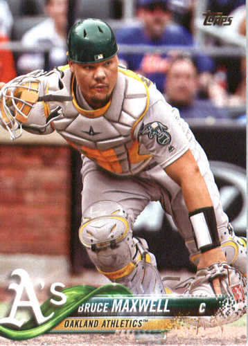Photo of 2018 Topps #336 Bruce Maxwell