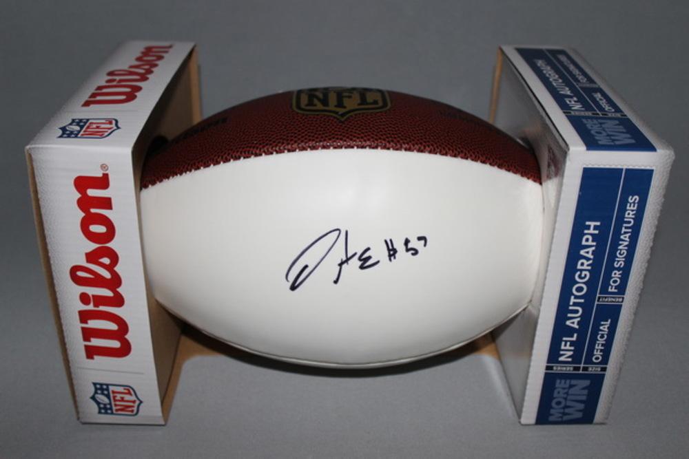 NFL - CHIEFS D.J. ALEXANDER SIGNED PANEL BALL