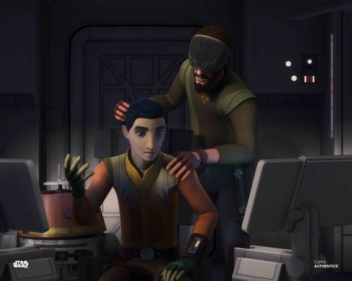 Kanan Jarrus and Ezra Bridger