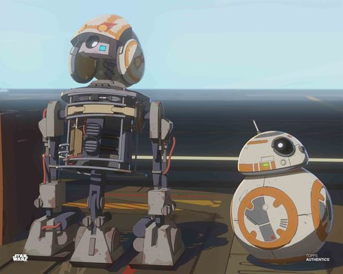 BB-8 and Bucket