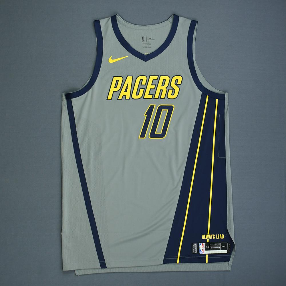 Kyle O'Quinn - Indiana Pacers - Game-Worn City Edition Jersey - Dressed, Did Not Play - 2018-19 Season