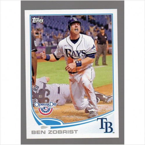Photo of 2013 Topps Opening Day #178 Ben Zobrist