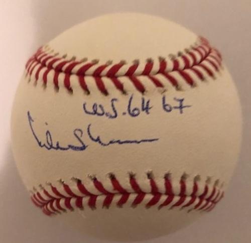 Mike Shannon Autographed