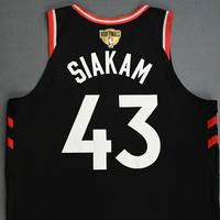 Pascal Siakim - Toronto Raptors - 2019 NBA Finals - Game 3 - Game-Worn Black Statement Edition Jersey