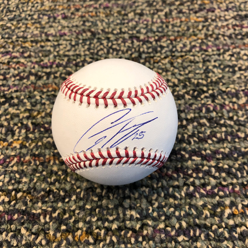 Photo of Buster Posey BP28 Foundation - Autographed Baseball signed by New York Yankees Shortstop Gleyber Torres