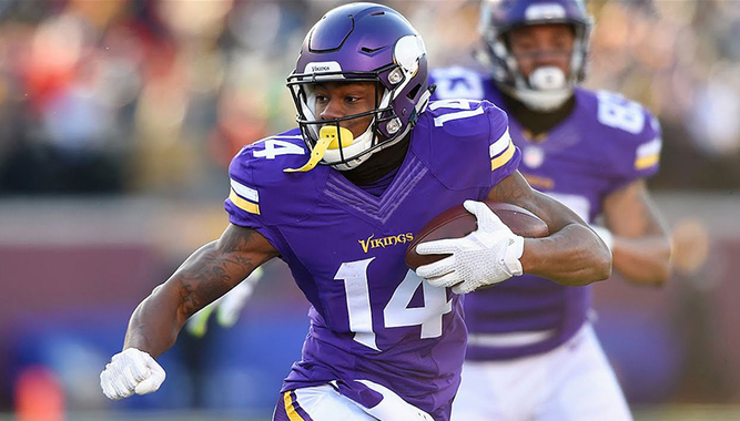 MINNESOTA VIKINGS FOOTBALL GAME AND MEET STEFON DIGGS