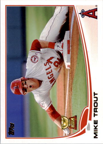Photo of 2016 Topps Berger's Best #BB62 Mike Trout