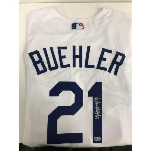 Autographed Walker Buehler Jersey