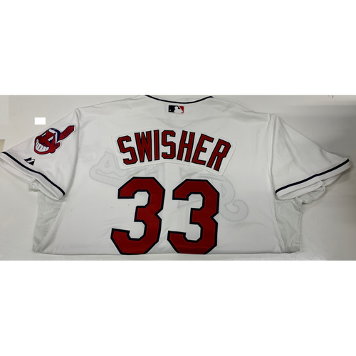 Photo of Nick Swisher Team-Issued Home Jersey