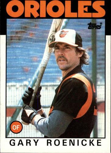 Photo of 1986 Topps #494 Gary Roenicke