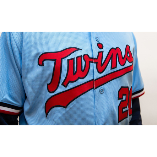 Photo of Jorge Polanco Autographed TwinsFest 2020 Jersey