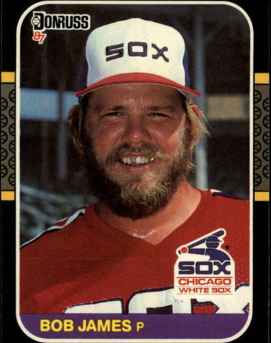 Photo of 1987 Donruss #493 Bob James