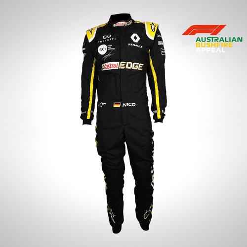 Photo of Nico Hulkenberg 2019 Signed Race Suit