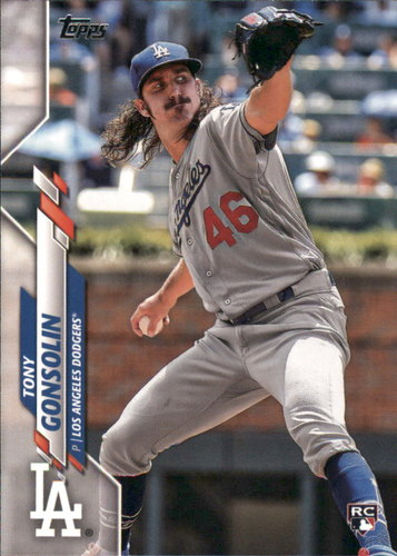 Photo of 2020 Topps #280 Tony Gonsolin RC