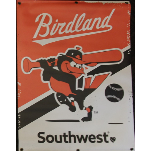 Photo of Swinging Bird Street Banner from the 2019 Season