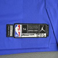 Nikola Vucevic - Orlando Magic - Kia NBA Tip-Off 2020 - Game-Worn Statement Jersey - Recorded a Double-Double