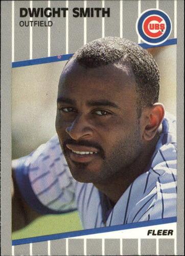 Photo of 1989 Fleer Update #79 Dwight Smith RC