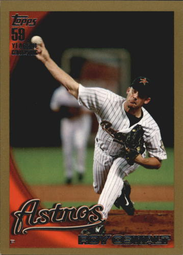Photo of 2010 Topps Gold Border #586 Roy Oswalt