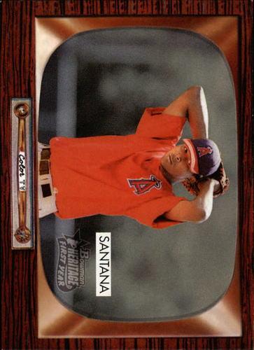 Photo of 2004 Bowman Heritage #263 Ervin Santana Rookie Card