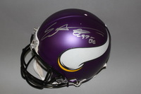 NFL - VIKINGS EVERSON GRIFFEN SIGNED VIKINGS PROLINE HELMET