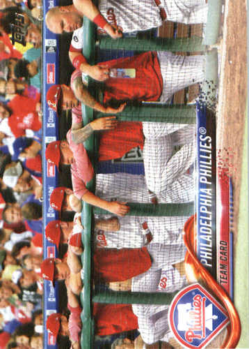 Photo of 2018 Topps #339 Philadelphia Phillies