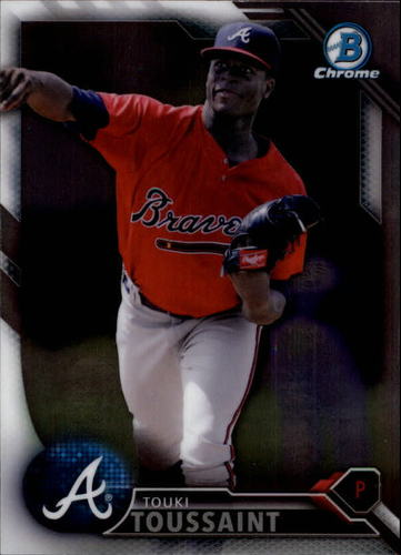 Photo of 2016 Bowman Chrome Draft #BDC177 Touki Toussaint