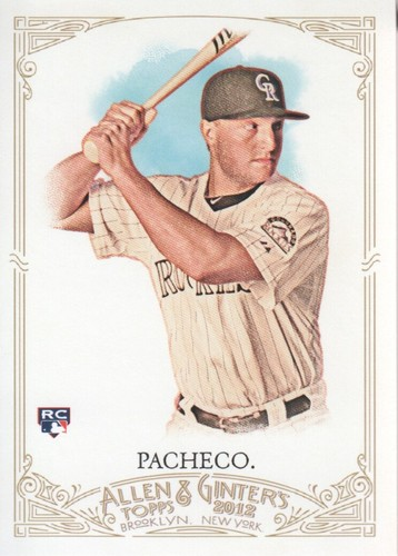 Photo of 2012 Topps Allen and Ginter #56 Jordan Pacheco RC
