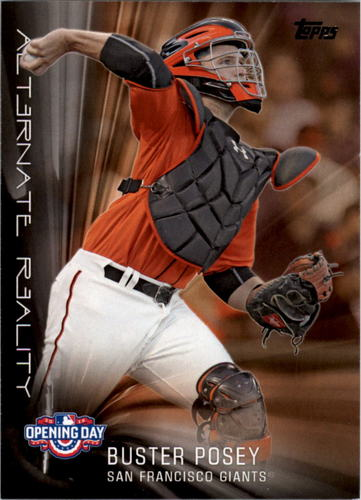 Photo of 2016 Topps Opening Day Alternate Reality #AR13 Buster Posey