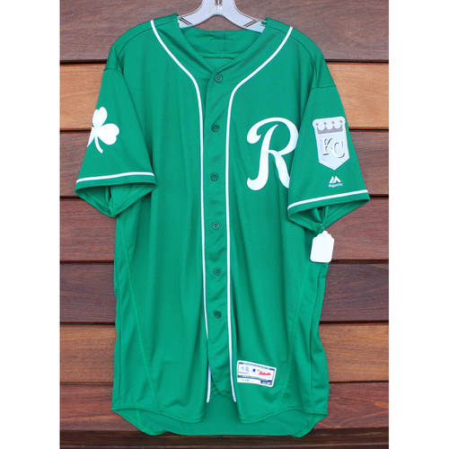 Photo of Team-Issued St. Patrick's Day Jersey: Sebastian Rivero (Size - 46)