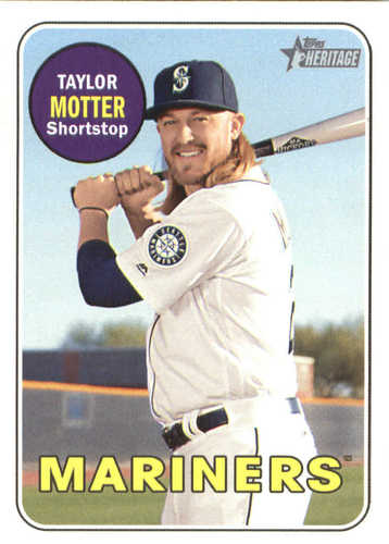 Photo of 2018 Topps Heritage #604 Taylor Motter