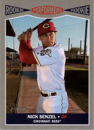 Photo of 2019 Topps Heritage Rookie Performers #RP9 Nick Senzel