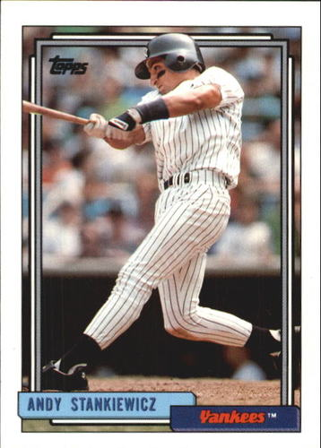 Photo of 1992 Topps Traded #111T Andy Stankiewicz