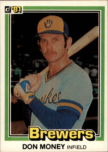 Photo of 1981 Donruss #443 Don Money
