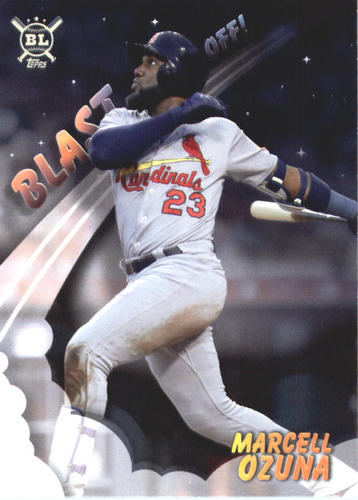 Photo of 2019 Topps Big League Blast Off #BO13 Marcell Ozuna