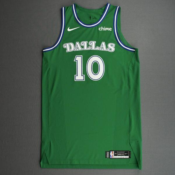 Image of Dorian Finney-Smith - Dallas Mavericks - Classic Edition (1966-67 Home Uniform) Jersey - Christmas Day '20