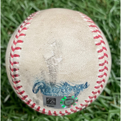 Photo of Rays Baseball Foundation: Game Used Home Run Baseball - Danny Jansen - ALWCS Game #2 - September 30, 2020 v TOR