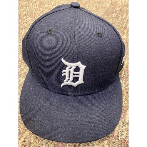 Photo of Tarik Skubal Detroit Tigers Game-Used Home Cap (MLB AUTHENTICATED)