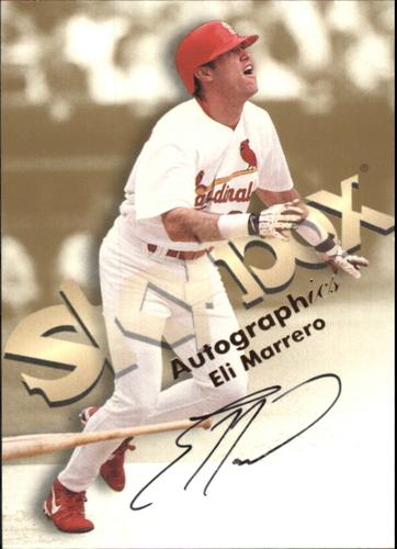 Photo of 1999 SkyBox Premium Autographics #36 Eli Marrero