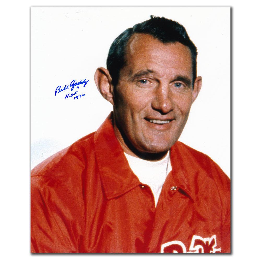 Bill Gadsby Detroit Red Wings HOF COACH Autographed 8x10
